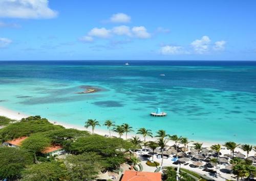 aruba beach side