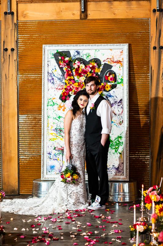 grafiti wedding